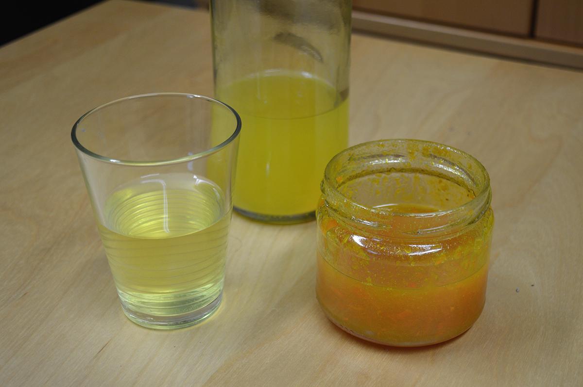 limonade bio au curcuma